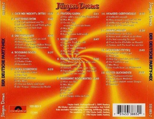 Bild 2: Der Deutsche Party-Mix 1 (1996), Matthias Reim, Paldauer, Vicky Leandros, Jürgen Drews, Marianne Rosenberg..