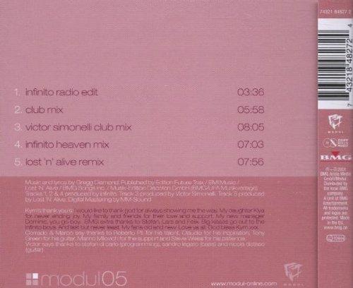 Bild 2: Infinito, Dance little dreamer (2001, feat. Kym Mazelle)