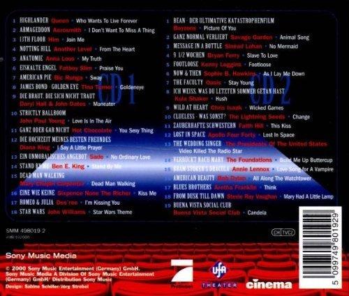 Bild 2: Cinema Hits (2000, Sony), Queen, Aerosmith, Oasis, Him, Bob Dylan..