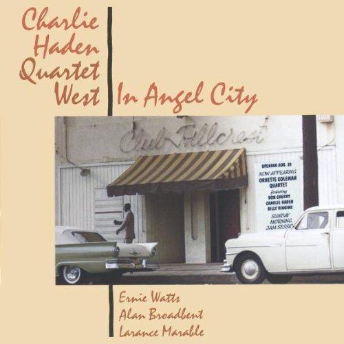 Bild 1: Charlie Haden-Quartet West, In angel city (1988; 10 tracks)