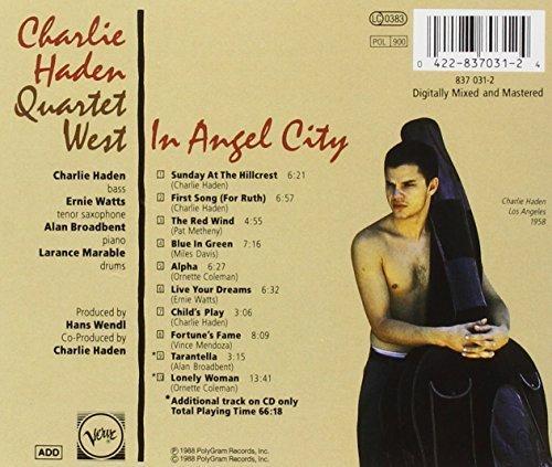 Bild 2: Charlie Haden-Quartet West, In angel city (1988; 10 tracks)