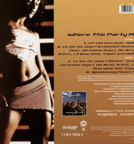 Bild 2: Jagged Edge, Where the party at (2001)