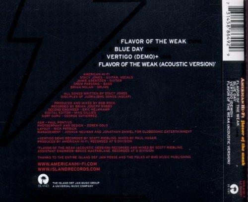 Bild 2: American Hi Fi, Flavor of the weak (2001)