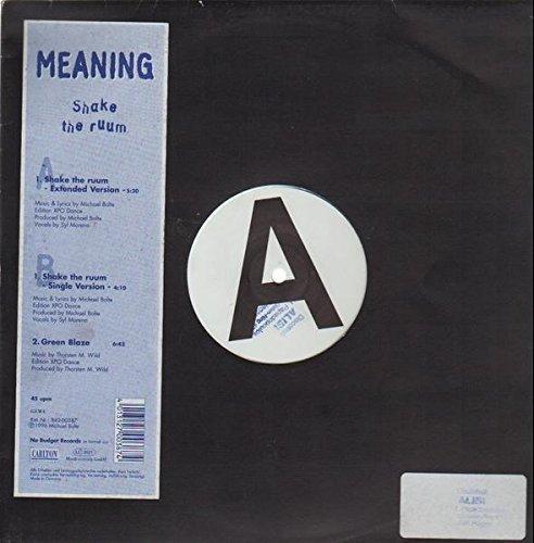 Bild 1: Meaning, Shake the ruum (Ext., 1996)