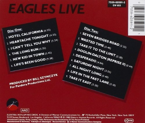 Bild 2: Eagles, Live (1980)