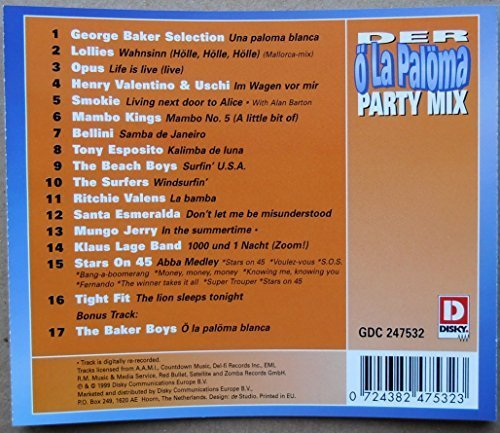 Image 2: Ö La Palöma Party Mix, Lollies, Opus, Smokie, Stars on 45..