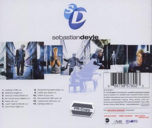 Bild 2: Sebastian Deyle, Songs from the night before (2000)