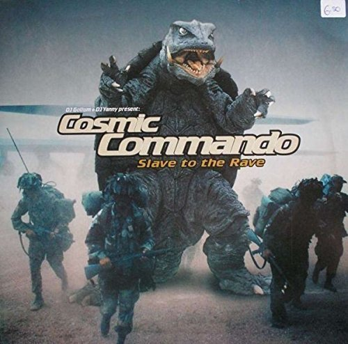Bild 1: Cosmic Commando, Slave to the rave/Did you here me? (Club Mixes, 2001)