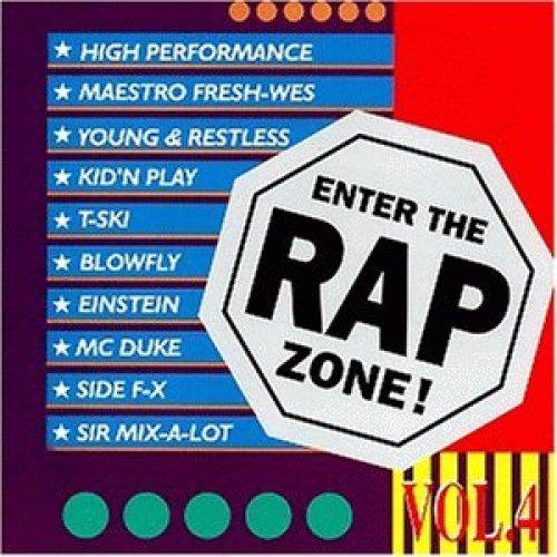 Bild 1: Enter the Rap Zone 4, Maestro Fresh Wes, High Performance, T-Ski, Sir Mix-a-Lot, Einstein, Mc Duke..