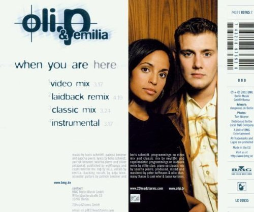 Bild 2: Oli. P, When you are here (2001, & Emilia)