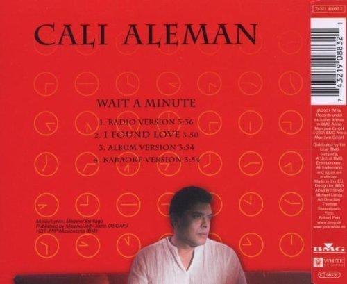 Bild 2: Cali Aleman, Wait a minute (2001)