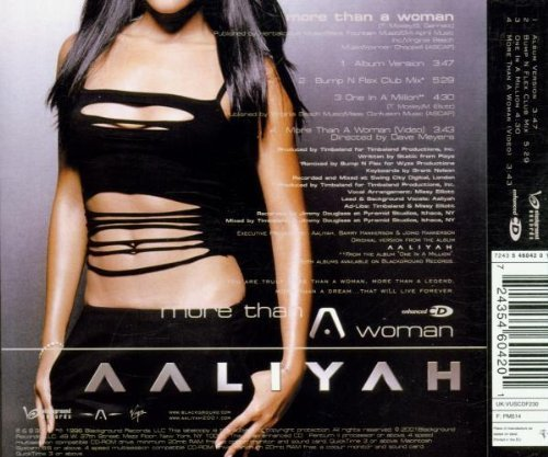 Bild 2: Aaliyah, More than a woman (2001)