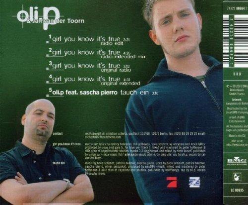 Bild 2: Oli. P, Girl you know it's true (2001, & Jan van der Toom)