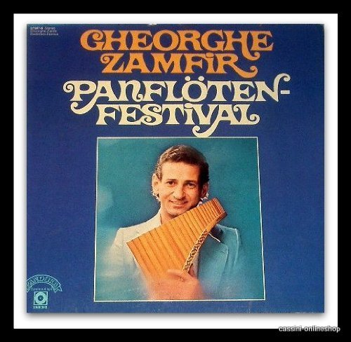 Bild 1: Gheorghe Zamfir, Panflöten Festival