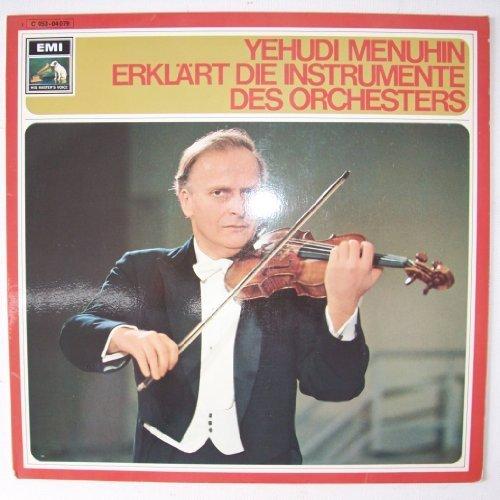 Bild 1: Yehudi Menuhin, Erklärt die Instrumente des Orchesters