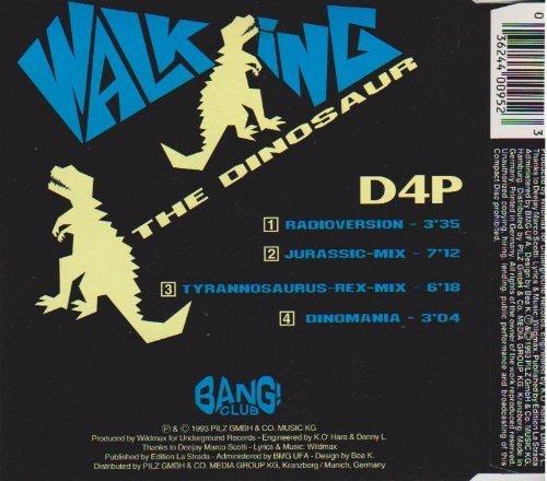 Bild 2: D4P, Walking the dinosaur (1993)