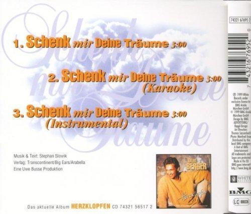Image 2: Olaf Berger, Schenk mir deine Träume (1999)