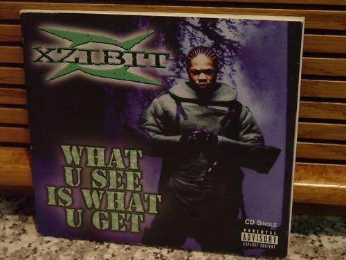 Bild 1: Xzibit, What u use is what u get (2 tracks, 1998)