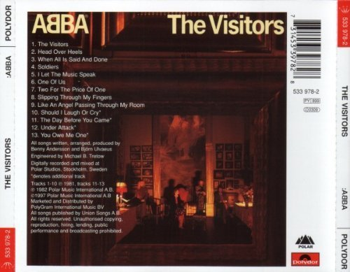 Bild 2: Abba, Visitors (1981; 13 tracks)
