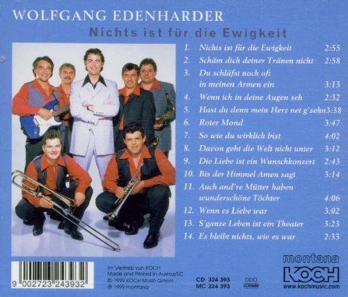 Bild 3: Wolfgang Edenharder, Nichts ist für die Ewigkeit (1999)