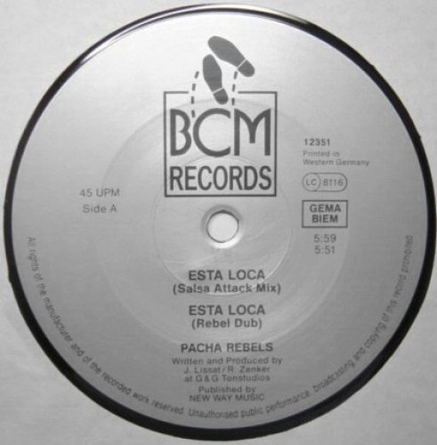 Bild 1: Pacha Rebels, Esta loca (Salsa Attack Mix)
