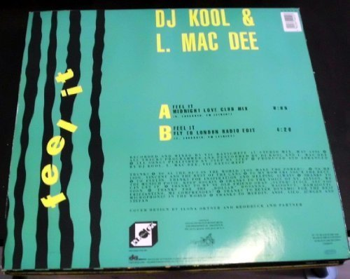 Bild 2: DJ Kool & L. Mac Dee, Feel it (Midnight Love Club Mix, 1990)