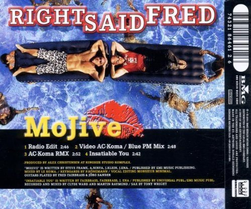 Фото 2: Right said Fred, Mojive (2001)