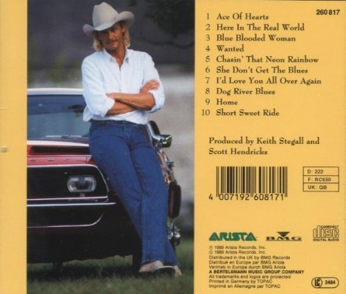 Image 2: Alan Jackson, Here in the real world (1989)