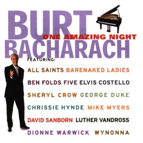 Bild 1: Burt Bacharach, One amazing night (1998, feat. George Duke, Chrissie Hynde, David Sanborn..)