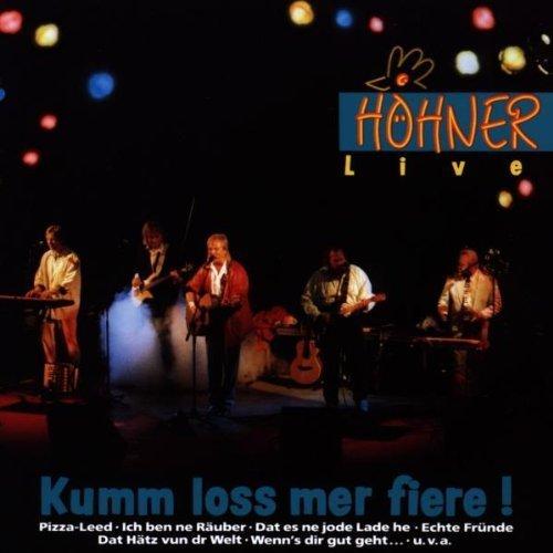 Bild 1: Höhner, Kumm loss mer fiere!-Live (1991)