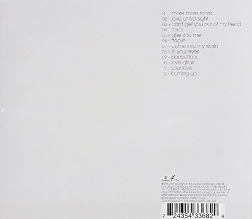 Image 4: Kylie Minogue, Fever (2001; 12 tracks)