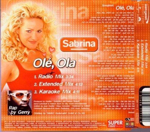 Bild 2: Sabrina, Olé, ola (2000)