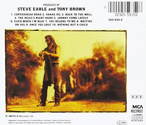 Bild 3: Steve Earle, Copperhead road (1988)