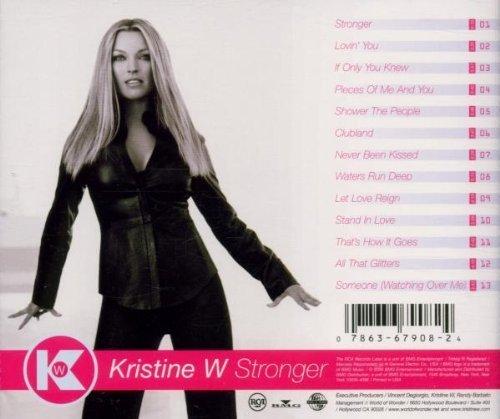 Bild 2: Kristine W, Stronger (2000, US)
