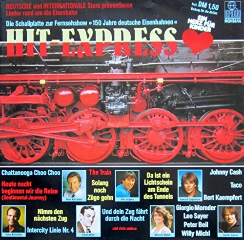 Bild 1: Hit-Express (1985), Udo Jürgens, Taco, Leo Sayer, Gunter Gabriel, Giorgio Moroder..