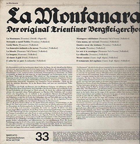 Bild 2: Original Trientiner Bergsteigerchor, La Montanara (Club)
