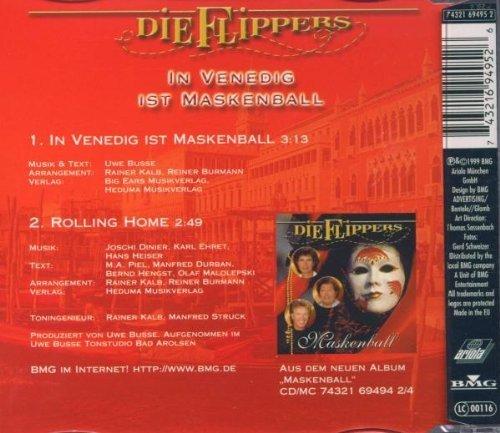 Bild 2: Flippers, In Venedig ist Maskenball (1999; 2 tracks)