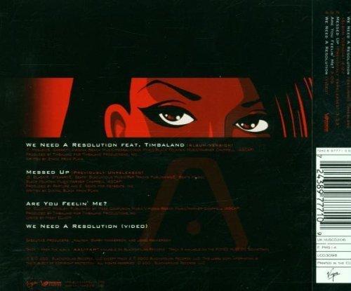 Bild 2: Aaliyah, We need a resolution (2001)
