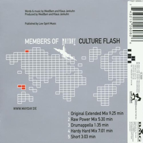 Bild 2: Members of Mayday, Culture flash (2002)
