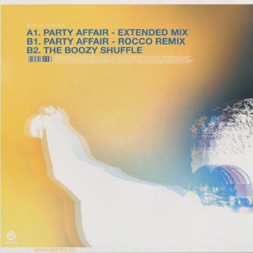 Bild 2: DJ Boozywoozy, Party affair (Ext./Rocco Remix, 2002)