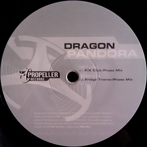Bild 1: Dragon, Pandora (F/X Club-Phase/Fridge Trance-Phase Mixes, 2001)