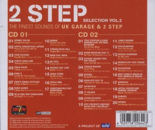Bild 2: 2 Step 2-The finest Sounds of UK Garage & 2 Step (2000), Dennis Taylor, Artful Dodger feat. Lifford, Craig David, Rosie Gaines, MAW feat. India, Azzido da Bass..