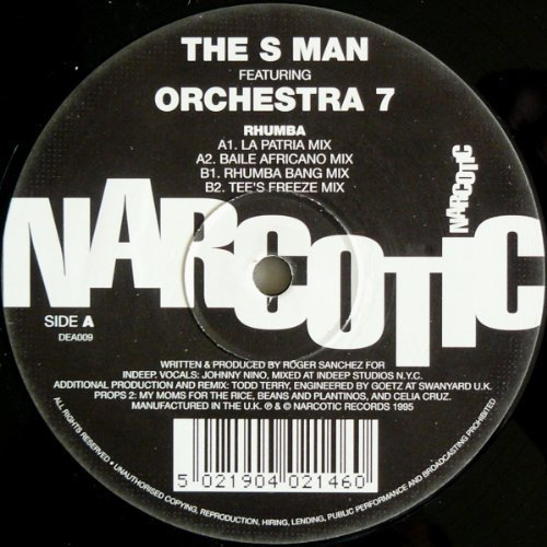 Bild 1: S Man, Rhumba (La Patria Mix, feat. Orchestra 7)