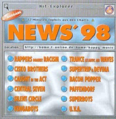 Bild 1: News '98, Rappers Agains Racism, Cisko Brothers, Central Seven, Silent Circle, Vengaboys, Paffendorf..