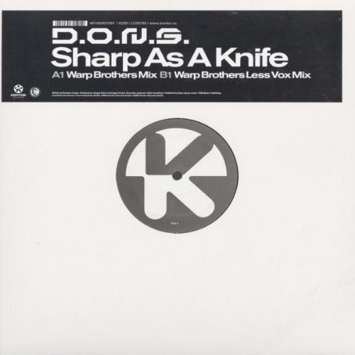 Bild 1: D.O.N.S., Sharp as a knife (Warp Brothers/Less Vox, 2002)