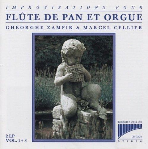 Bild 1: Gheorghe Zamfir, Flûte de pan et orgue 1+3 (et Marcel Cellier)