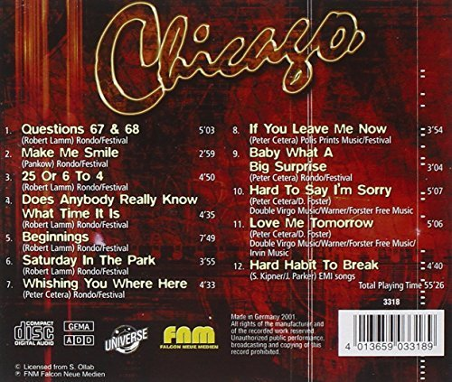Bild 2: Chicago, If you leave me now (compilation, 12 tracks, #fnm3318)