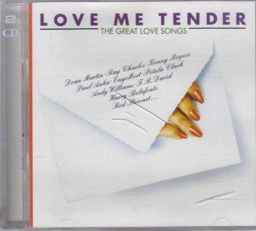 Bild 1: Love me tender-The great Love Songs, Kenny Rogers, Ray Charles, Hollies, Gene Pitney, Petula Clark..