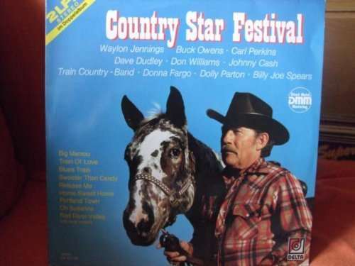 Bild 1: Country Star Festival, Train Country Band, Johnny Cash, Billie Jo SPears, Buck Owens, Donna Fargo..
