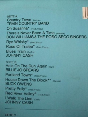 Bild 4: Country Star Festival, Train Country Band, Johnny Cash, Billie Jo SPears, Buck Owens, Donna Fargo..